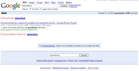 Googlewhackqueruleuse