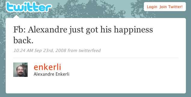 HappyTweet
